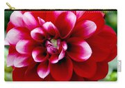 Red Spring Flower Carry-all Pouch