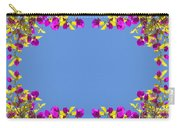Spring Flower Frame Carry-all Pouch