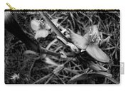 Spring Flowers Bw Carry-all Pouch