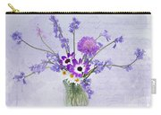 Spring Flowers In A Jam Jar Carry-all Pouch