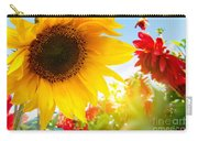 Spring Flowers In The Garden Carry-all Pouch
