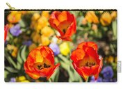 Spring Flowers No. 4 Carry-all Pouch
