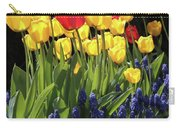 Spring Garden Sunshine Square Carry-all Pouch