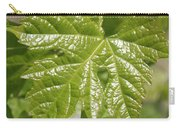 Spring Grape Leaf Carry-all Pouch