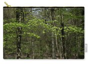 Spring Greenery Carry-all Pouch