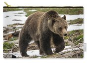 Spring Grizzly Bear Carry-all Pouch