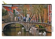 Spring In Bruges Carry-all Pouch