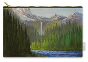 Spring In The Rockies Carry-all Pouch by C Steele