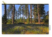 Spring Lupines In The Forest Carry-all Pouch