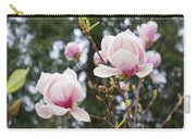 Spring Magnolia Tree Flowers Pink White Carry-all Pouch