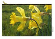 Spring Meadow Field Daffodil Flowers Carry-all Pouch