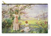 Spring   Picking Flowers Carry-all Pouch