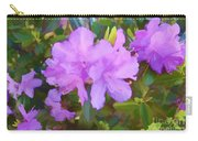 Spring Pink Azalea Carry-all Pouch