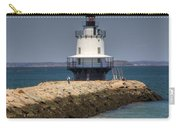 Spring Point Ledge Light Carry-all Pouch by Joann Vitali