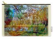 Spring Pond Photoart Father's Day Carry-all Pouch
