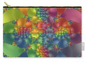 Spring Promises Fractal Carry-all Pouch