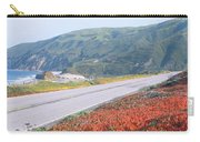 Spring, Route 1, California Coast Carry-all Pouch