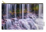 Spring Runoff At The Falls Carry-all Pouch