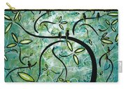 Spring Shine By Madart Carry-all Pouch by Megan Duncanson