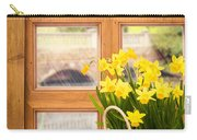 Spring Showers Carry-all Pouch by Amanda Elwell