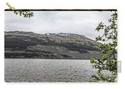 Spring Snow In The Highlands Carry-all Pouch
