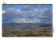 Spring Snow On Squaw Butte Carry-all Pouch
