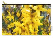 Spring - Sprig Of Forsythia Carry-all Pouch