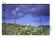 Spring Sunset Windy Days Carry-all Pouch