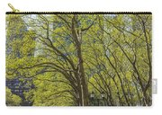 Spring Time In Bryant Park New York Carry-all Pouch by Angela A Stanton