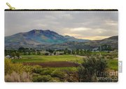 Spring Time In The Valley Carry-all Pouch by Robert Bales