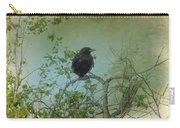 Spring Tree And Crow Carry-all Pouch