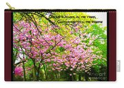 Spring Tree Blossoms Carry-all Pouch
