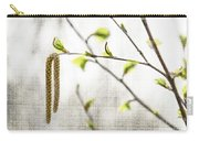 Spring Tree Branch Carry-all Pouch