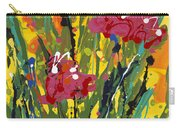 Spring Tulips Triptych Panel 3 Carry-all Pouch