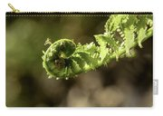 Spring Unfurled Fiddlehead Carry-all Pouch