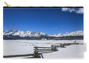 Spring View Of The Sawtooth Mountains Carry-all Pouch
