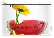 Spring Watermelon Carry-all Pouch by Carlos Caetano