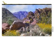 Spring Wildflowers At Anza Borrego Carry-all Pouch