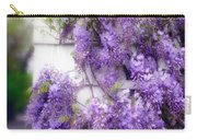 Spring Wisteria Carry-all Pouch