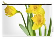 Spring Yellow Daffodils Carry-all Pouch