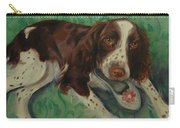 Springer Spaniel With Shoe Carry-all Pouch