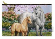 Spring's Gift - Mare And Foal Carry-all Pouch