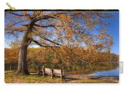 Springtime Fire Carry-all Pouch by Debra and Dave Vanderlaan
