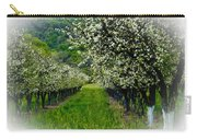Springtime In The Orchard Carry-all Pouch by Bill Gallagher