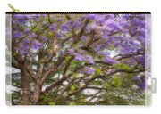 Springtime Jacaranda Tree Carry-all Pouch