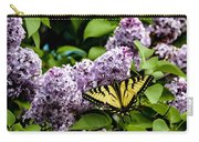 Springtime Lilac And Butterfly Carry-all Pouch