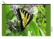 Springtime Moments- The Butterfly And The Lilac  Carry-all Pouch