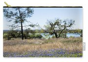 Springtime Texas Bluebonnets Naturalized Carry-all Pouch