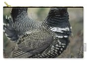 Spruce Grouse Male Courting Alaska Carry-all Pouch