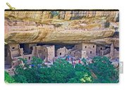 Spruce Tree House On Chapin Mesa In Mesa Verde National Park-colorado  Carry-all Pouch